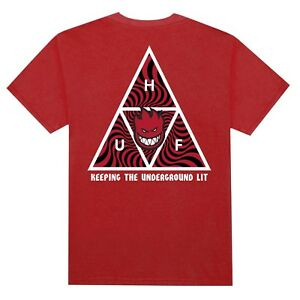 HUF-X-SPITFIRE-TRIPLE-TRIANGLE-T-SHIRT-RED