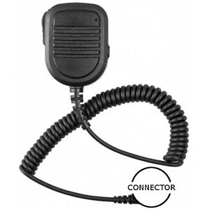 Standard Size Speaker Microphone with 3.5mm Jack for Kenwood 2-Pin 2-Way Radios