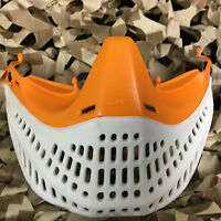 Jt Paintball Spectra Proflex Mask Goggle Eps Flex Bottom - Orange/white