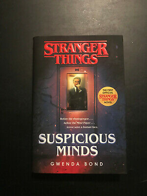 Stranger Things Suspicious Minds By Gwenda Bond Hardcover Barnes Noble Edition Ebay