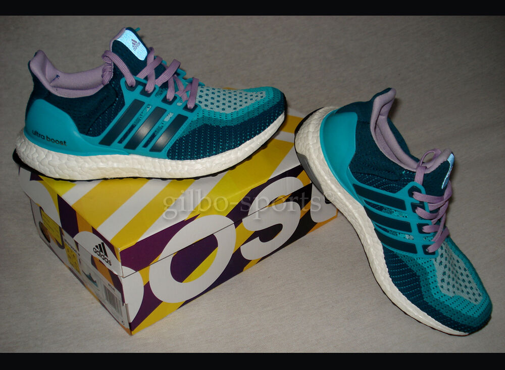Zapatos casuales salvajes Adidas ultraboost 3.0 W turquesa lila /3 38 2/3 41 1/3 af5140 ultra Boost