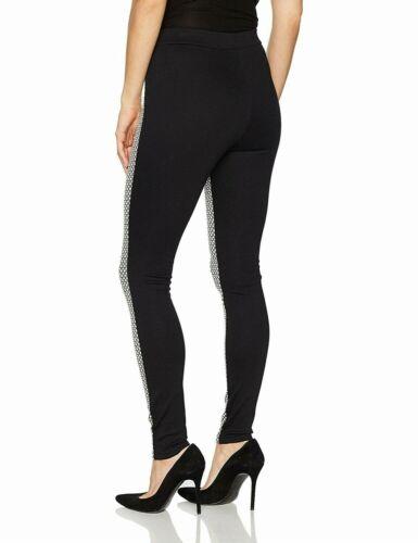 Hue Women/'s Black Metallic Check Ponte Stretch Legging Sizes XS//S//M//L//XL NWT