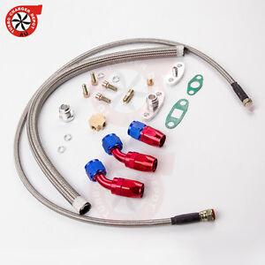 Turbo-Oil-Feed-Return-Line-Hose-Kit-For-T3-T4-T70-T66-T04E-tcd