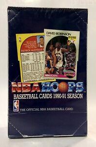 1990-Hoops-Basketball-series-1-NBA-Basketball-36-pk-Card-Box-factory-sealed