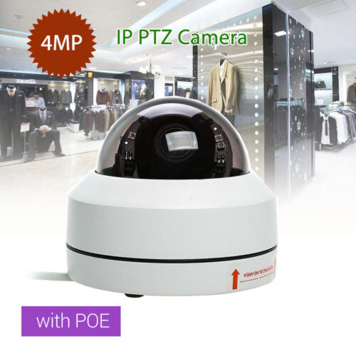 4MP 1080P HD IP Smart Camera Infrared PTZ Network PoE Home Security RJ45 CCTV