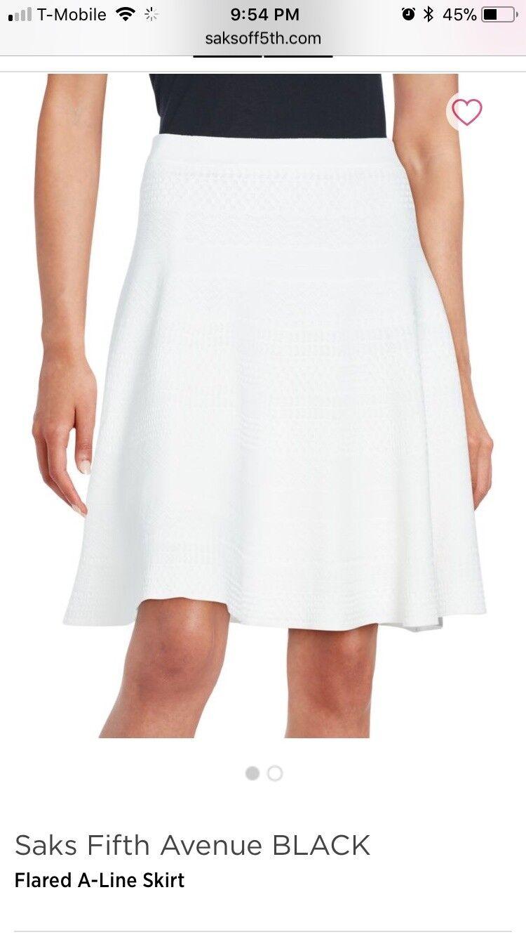 Saks Fifth Avenue Flared Aline skirt