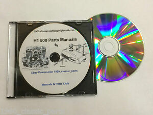 Details about KAWASAKI H1 500 Triple CD H1B H1C H1D H1E H1F KH500 Tuning on