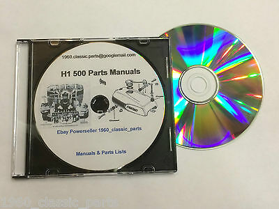 KAWASAKI H1 500 Triple CD H1B H1C H1D H1E H1F KH500 Tuning Carbs Wiring on