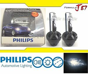 philips hid xenon crystal vision white 5000k d2r two bulbs. Black Bedroom Furniture Sets. Home Design Ideas