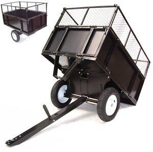 kippanh nger 300kg aufsitzm her rasentraktor kippbar atv. Black Bedroom Furniture Sets. Home Design Ideas