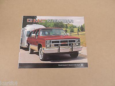 1980 GMC Suburban Brochure C-1500 C-2500 K-1500 K-2500