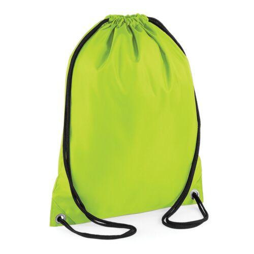 Personalised Drawstring Bag Gym PE Swim School Football Printed Waterproof