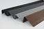 "miniature 1 - 118 cm 46,45"" Stair nosing non slip RGPD rubber angle 70x40mm step edge Bullnose"