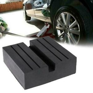 Universal-Car-Repair-Square-Slotted-Frame-Rail-Floor-Hot-Pad-Jack-Rubber-Gu-D7I3