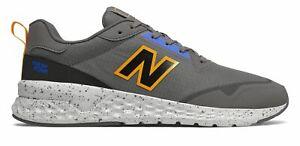New-Balance-Men-039-s-Fresh-Foam-515-Sport-v2-Shoes-Grey-with-Yellow-amp-Blue