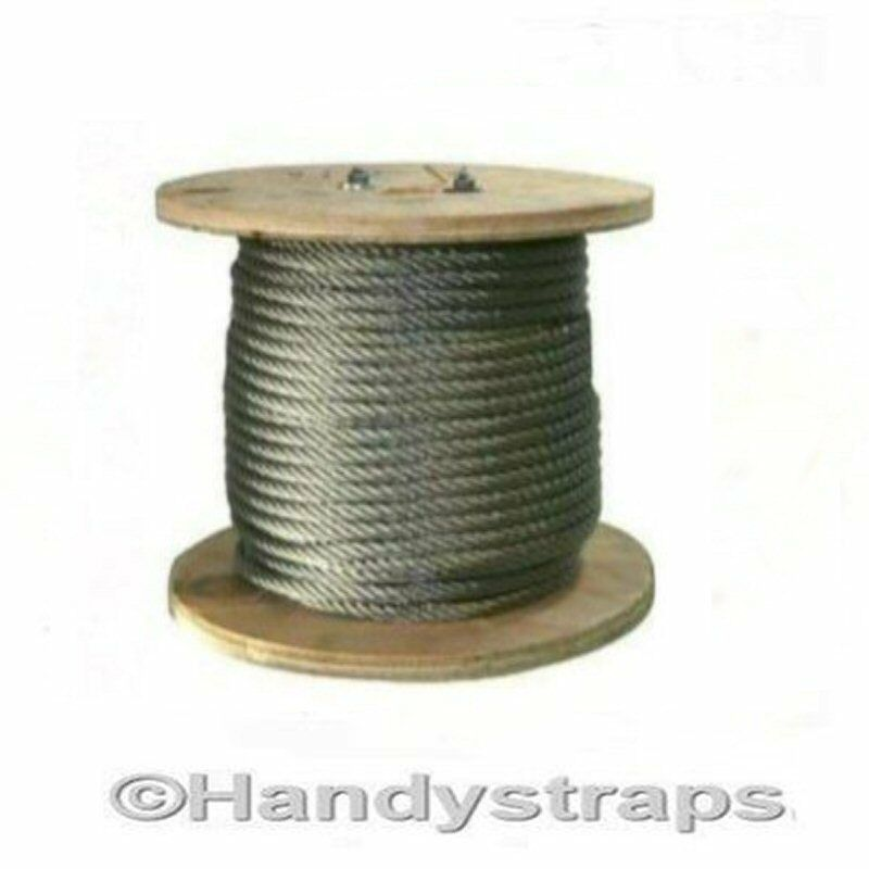 Stainless Steel Wire Rope  25 Metres of 3mm  7x7  Marine Construction  a lot of concessions