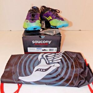 6efcc774857a Saucony Endorphin Running Shoes Men s Size 11.5 Purple Black Green ...
