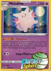 Pokemon 75//192  Mélodelfe Holo Rare Epee et Bouclier 2 EB02 VF Francais