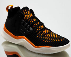 quality design 06d4e 4de8e Image is loading NIKE-AIR-JORDAN-DNA-LX-TRAINER-FLYKNIT-BLACK-