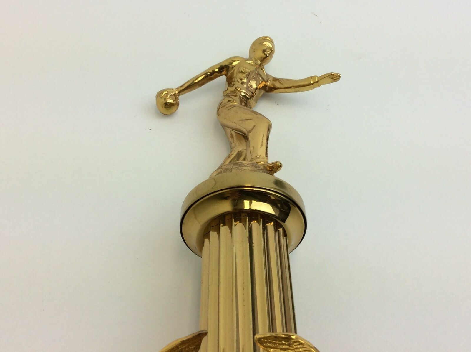 Grange Bowling Liga Stürzen Dorf 1958-1959 Meisterschaft Team Bowling Trophäe Weitere Sportarten