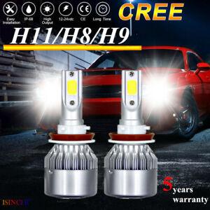 CREE-H11-LED-Headlight-Kits-2200W-580000LM-Bulbs-Power-6000K-Hi-Lo-Beam-Lamps-C6