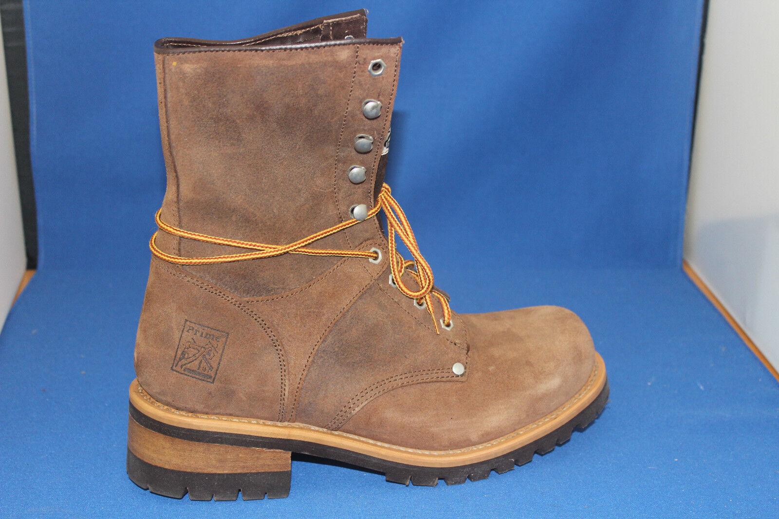 Prime bottes bottes bottes logger  worker bottes gr. 39 leder    fashion ee63dc
