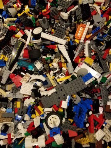 Free ship Over 1000 Pieces 4 LB pounds lego Bulk Sanitized with 10 minifigures