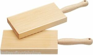 Kitchen-Craft-Ribbed-amp-Plain-Traditional-Wooden-Butter-amp-Gnocchi-Paddles-Pats