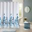 100-tissu-polyester-Design-Moderne-Lavable-Rideau-de-douche-avec-12-crochets miniature 13
