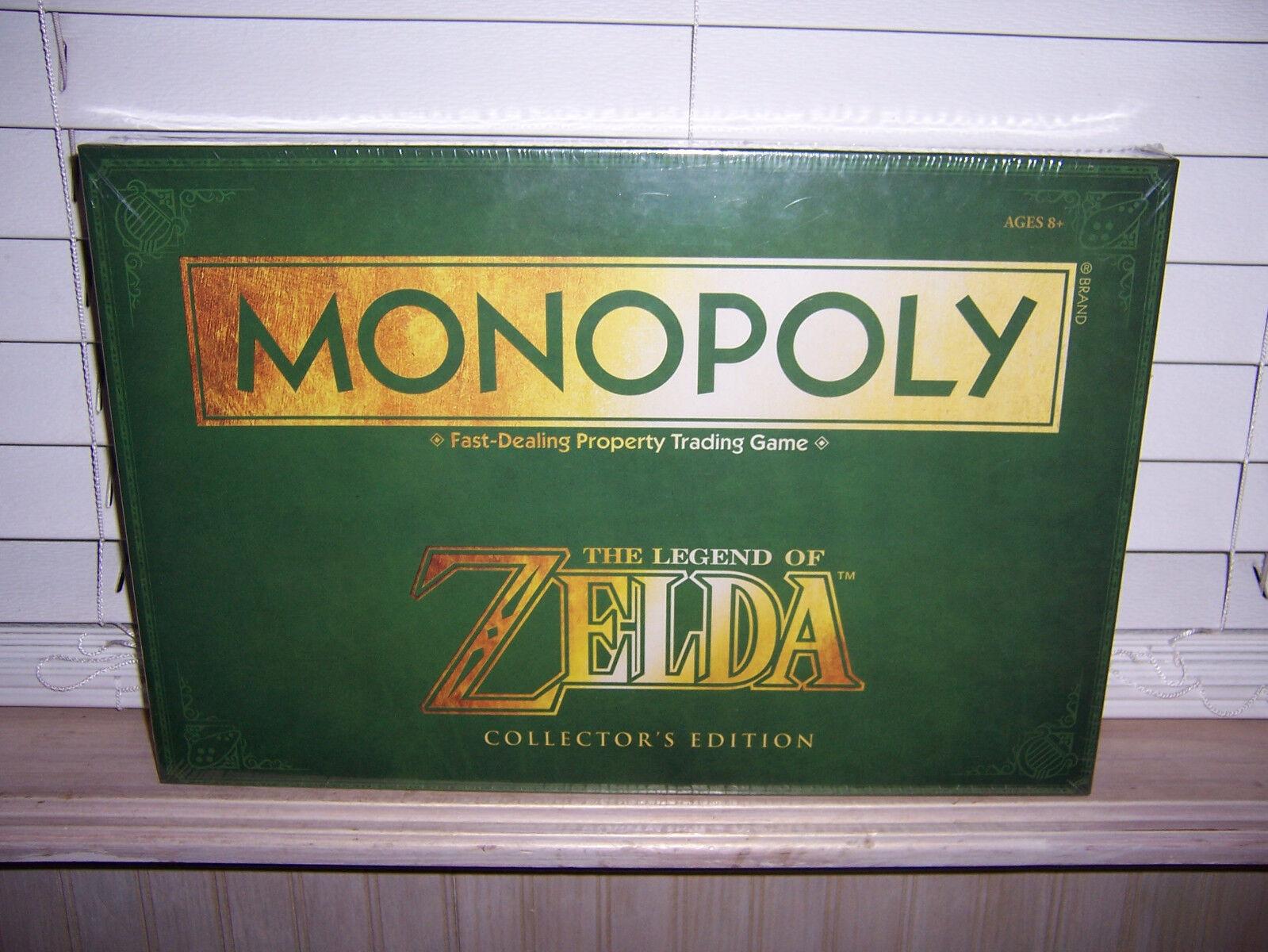 La Leyenda de Zelda Edición Coleccionista Juego De Monopolio Nuevo En Caja Sellada