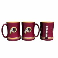 Washington Redskins Coffee Mug Relief Sculpted Team Color Logo - 14 Oz Red