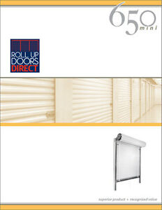 Roll Up Door Janus Model 650 Sizes 3x7 To 10x10 Available Ebay