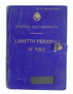 Aeronautica-Militare-Libretto-personale-di-volo-34-Squadriglia-O-A-1941
