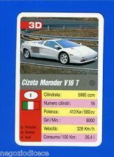 [GCG] SUPERCARTINE - SCHMID - Figurina-Sticker n. 3D - CIZETA MORODER V 16 T