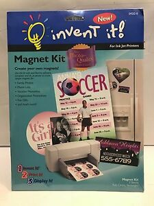 invent it magnet kit create your own magnets brand new sealed