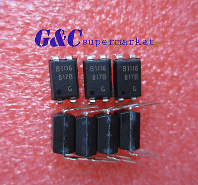 30PCS PC817 B stalls  BPC817 DIP-4 PHOTOTRANSISTOR NEW GOOD QUALITY