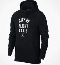 Nike Air Jordan City of Flight NYC Hoodie Sweatshirt Pullover Medium 943674-011