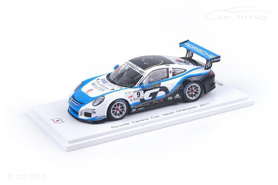 PORSCHE 911 gt3 Cup-Porsche Carrera Cup Giappone CHAMPION 2017-Shinji Takei - 1