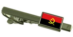 Angola Pince à Cravate - Barre avec Select Gifts Pochette VrxXemYG-09154738-307870702