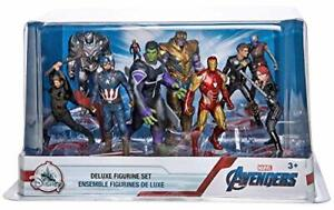 Avengers Deluxe Figurine Play set - 10 Marvel Characters
