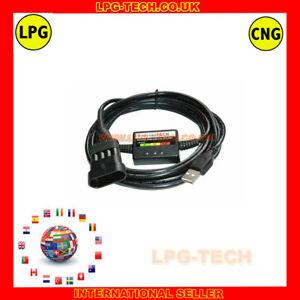 Diagnostic Programming Cable Interface USB LPG AUTOGAS type 1 AG SGI//DGI and