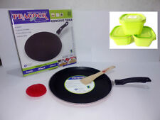 Peacock Non Stick Dosa Tawa With FREE 3 Amaze Containers