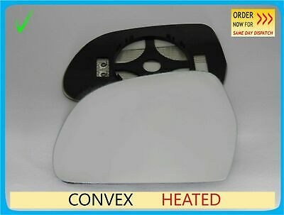 Wing Mirror Glass For SKODA OCTAVIA 2009-2012 Convex Heated Left Side #A018