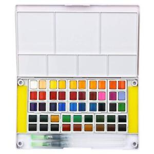 Watercolor-Paint-Set-48-Assorted-Watercolors-Travel-Watercolor-Kit-Portable