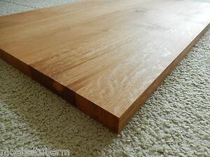 Tischplatte massivholz eiche  Tischplatte Regalbrett Platte Eiche Massiv Holz Leimholz Brett au ...