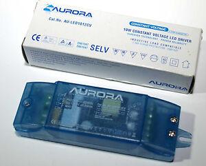 10W constant voltage LED driver 12V AURORA EVG LED Neu inkl. MwSt