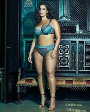 Tall sexy lingerie model curvy plus size hot pic photo print