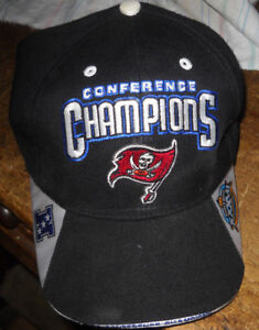 8066f1e7 Details about TAMPA BAY BUCCANEERS Super Bowl XXXVII Official Locker Room  Hats REEBOK