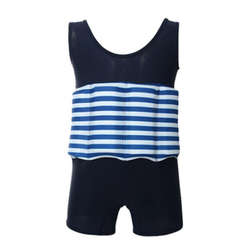 Summer Swimming Beginner Swimwear Swimsuit with Buoyancy Kid Girl Boy Float Suit