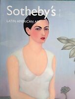 Sothebys LATIN AMERICAN ART Paintings, Sculpture, Prints, Drawings, Acrylic 2001